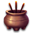 初级青缸香炉