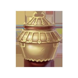 青釉谷仓罐